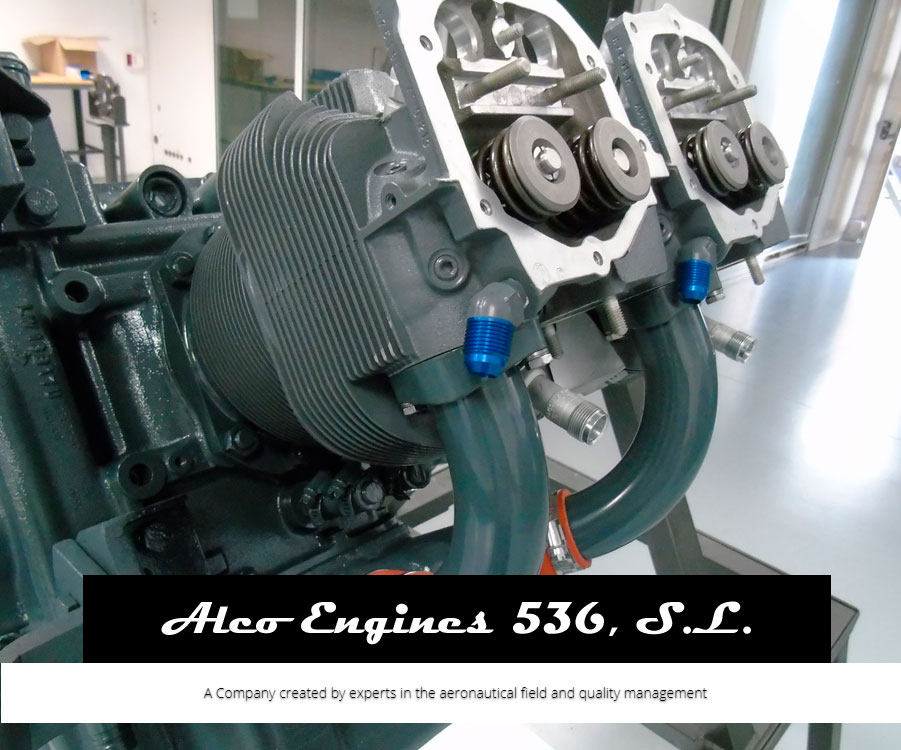 Alco Engines 536. Inspect, repair and overhaul aircraft engines with a test bench